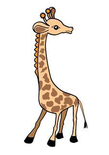 Free Giraffe Vector Illustration Stock Images - 18083784