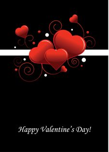 Free Valentine S Day Postcard Royalty Free Stock Photos - 18084658