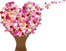 Free Love Heart Tree Royalty Free Stock Photography - 18085267