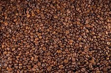 Free Coffee Beans Background Stock Image - 18085411