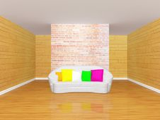 Gallery S Hall With Sofa Stock Image