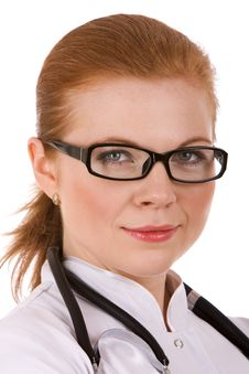 Free Beautiful Successful Female Doctor Stock Images - 18086384