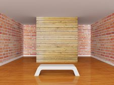 Free Gallery S Hall With Bench Royalty Free Stock Photos - 18086528