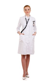 Free Beautiful Successful Female Doctor Royalty Free Stock Photos - 18086578