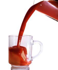 Free Juice Splash Royalty Free Stock Photo - 18086655