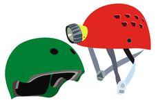 Safety Helmets Vector Stock Photos