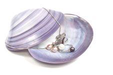 Free Pearl Platinum Jewelry Royalty Free Stock Image - 18087266