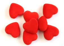 Free Pile Of Red Hearts Royalty Free Stock Photo - 18087285