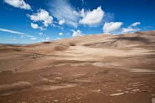 Free Sand Dunes National Park, Colorado Stock Image - 18087411