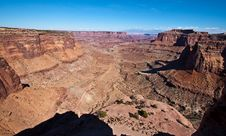 Free Shafer Canyon Overlook In Canyonlands, UT Royalty Free Stock Photo - 18087445