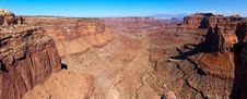 Free Shafer Canyon Overlook In Canyonlands, UT Stock Photo - 18087470