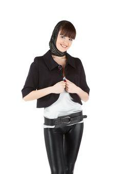 Free Beautiful Woman In Black Stock Photos - 18087473