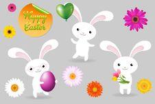 Free Rabbits. Vector Stock Photo - 18088550