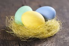 Free Colorful Easter Eggs Royalty Free Stock Images - 18089219