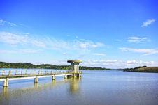 Free Barrage Of Vigia Lake, Portugal. Stock Image - 18089441