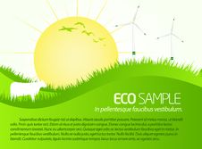 Free Green Eco Sample Scenery Stock Image - 18089511