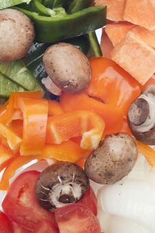 Variety Of Vegetables Royalty Free Stock Photography