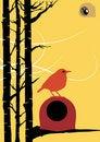 Free Bird In Nest Stock Image - 18090391