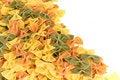 Free Italian Pasta Farfalle Royalty Free Stock Image - 18090566
