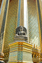 Free Stone Buddha Statue In Temple Stock Photos - 18096543