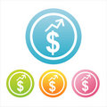 Free Colorful Dollar Signs Stock Photo - 18098000