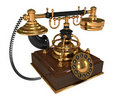 Free 3d Retro Telephone Stock Photography - 18099922