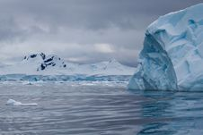 Iceberg Blue Stock Image
