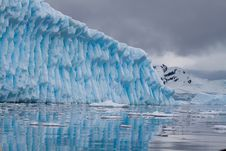 Free Iceberg Blue Royalty Free Stock Image - 18090656