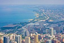 Free Chicago Cityscape, United States Stock Images - 18091414