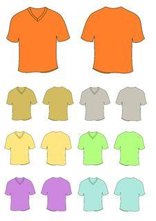 Free T Shirts Royalty Free Stock Photos - 18092038