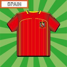 Free Football (soccer) Shirt Royalty Free Stock Photo - 18092175