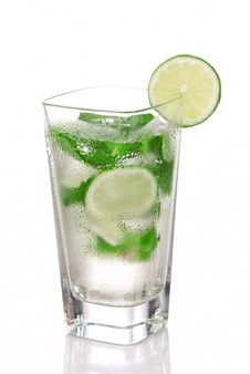 Free Mojito Cocktail Royalty Free Stock Photography - 18092847