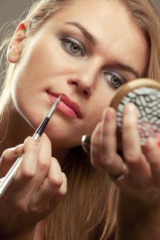 Free Make-up Royalty Free Stock Photos - 18093118