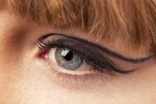 Free Close-up Of Woman Eye Royalty Free Stock Image - 18093126