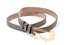 Free Women S Leather Belt Stock Photography - 18093952