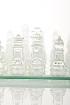 Free Beautiful Glass Chess Stock Image - 18094121