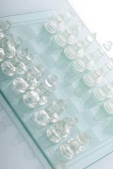 Free Beautiful Glass Chess Stock Image - 18094381