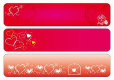 Free Love Valentine Banners Stock Photo - 18096350