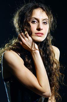 Free Beautiful Lady Royalty Free Stock Photo - 18097105