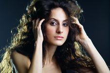 Free Beautiful Lady Royalty Free Stock Image - 18097136