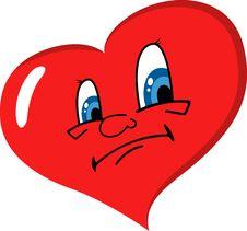 Free Sad Heart Stock Photo - 18098790