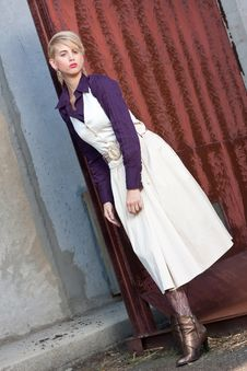 Free Beautiful Girl In Outdoor Stock Image - 18098921