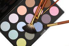 Free Professional Cosmetics And Make-up Set Royalty Free Stock Photo - 18099525