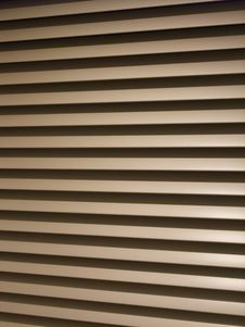 Free Grey Steel Blinds Or Shutters Royalty Free Stock Photography - 18099667