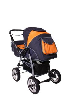 Free Children S Pushchair Royalty Free Stock Photos - 18099758