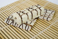 Free White Chocolate On Bamboo Stock Photography - 1819762