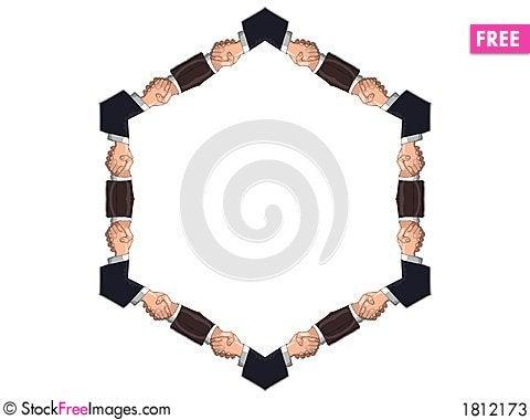 Free Handshake Frame Stock Photos - 1812173