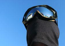Free Masked Snowboarder Stock Photos - 1810353