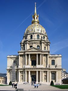 Free Hotel Des Invalides Royalty Free Stock Image - 1812426