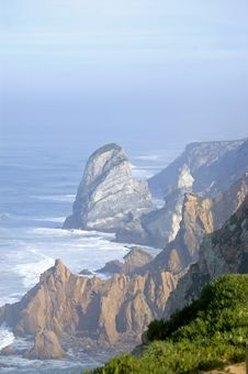 Free Portuguease Coastline Stock Photos - 1814263